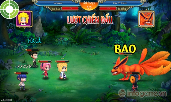 tải game naruto 3D online cho android
